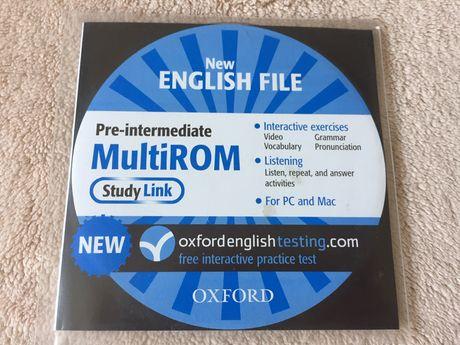 Interaktywny program do angielskiego, English File Pre-Intermediate