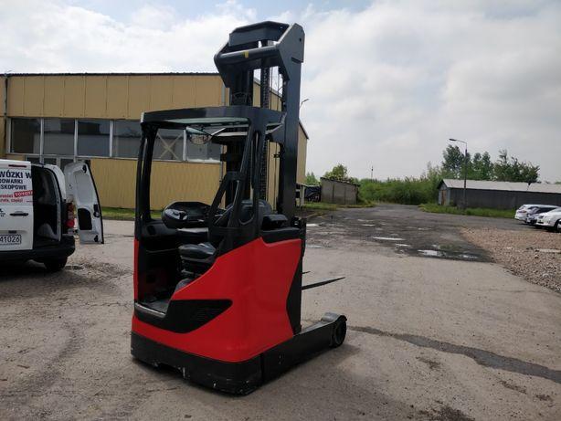 Wózek widłowy Linde R14 ReachTruck Elektryczny 7,26m widlak podnośnik