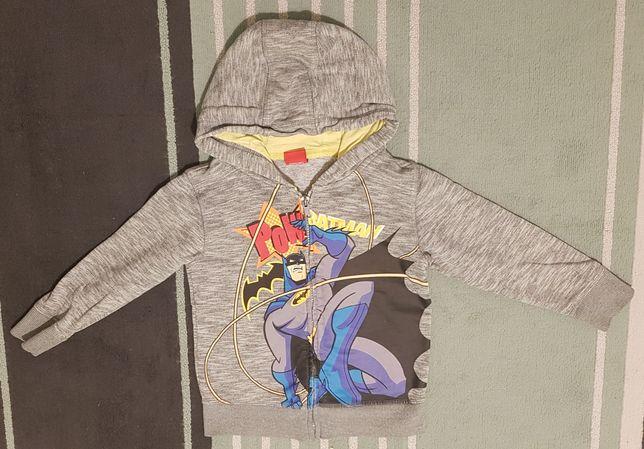 Bluza z kapturem na zamek Batman 110cm