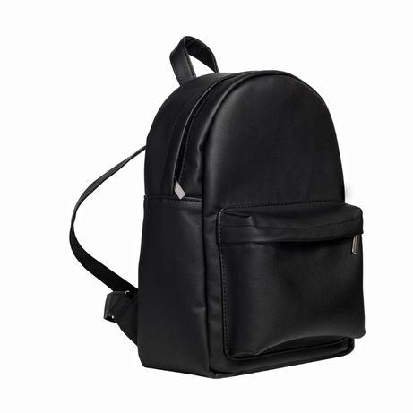 супер распродажа black friday 2020 Большой черный рюкзак, эко кожа
