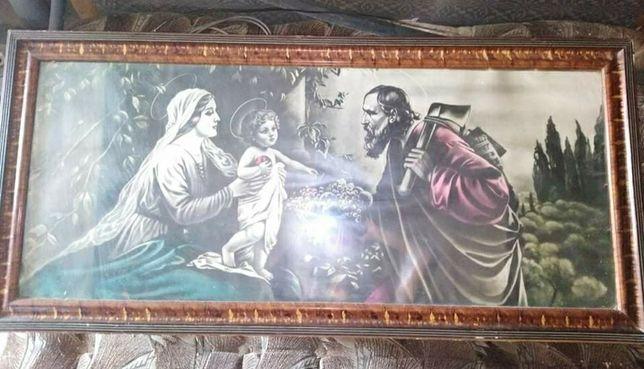 Duży obraz religijny