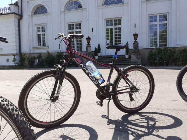 Rower kands 26 rama 19 czarno rózowy