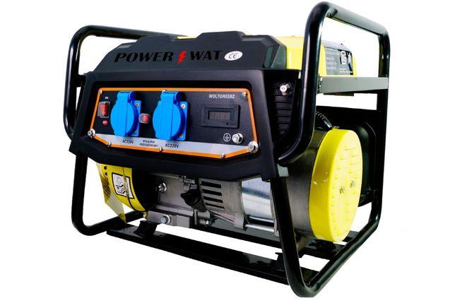 Agregat prądotwórczy Generator prądu PowerWat 1400W 3KM 230V LCD