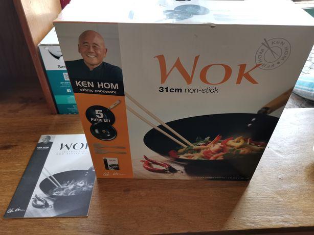 Ken Hom Wok 31cm e 5 peças NOVA