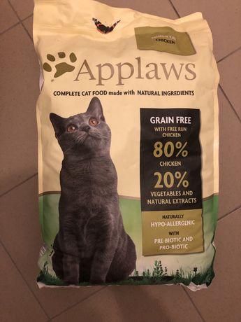 Karma Applaws senior cat, chicken 7,5 kg nowa