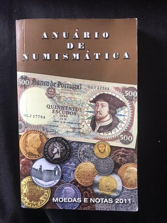 Anuário numismática ano 2011