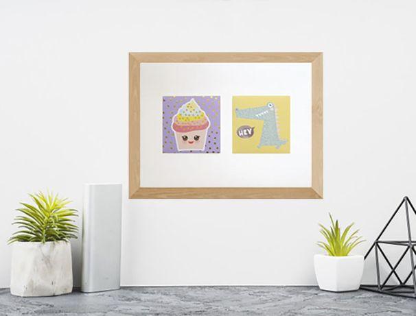 ciasteczko plakat a4, śmieszny plakat, wesoły plakat do kuchni 21x30