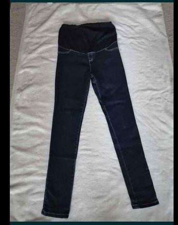 Spodnie ciążowe jeansowe XL nowe