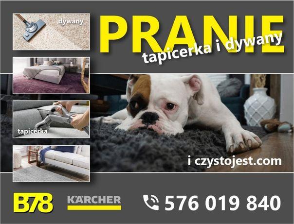 Czyszczenie i pranie / tapicerka meblowa / dywany i wykładziny