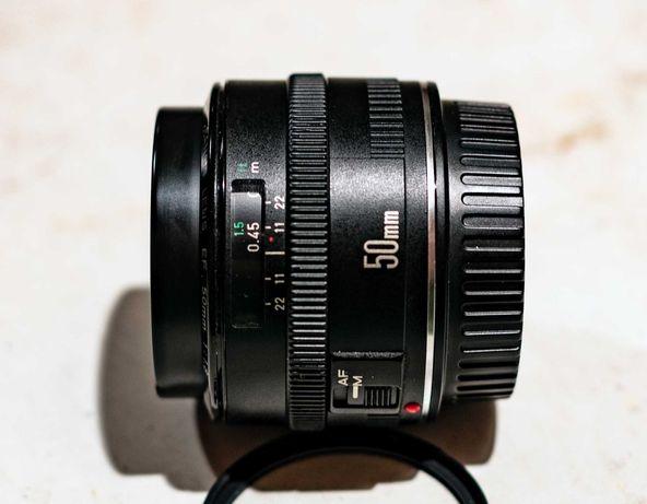 Canon EF 50mm f/1.8 Mk I. Mega ostry + dodatki