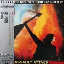 CD The Michael Schenker Group-Assault Attack (Japan)
