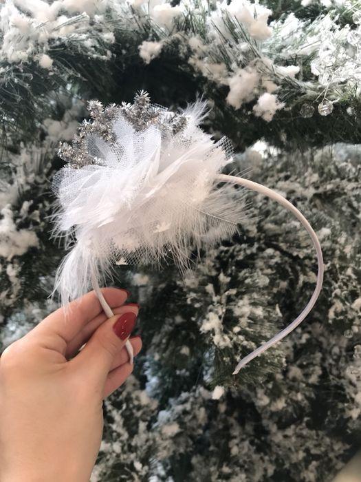 Стильный обруч Снежинка для девочки Одесса - изображение 1