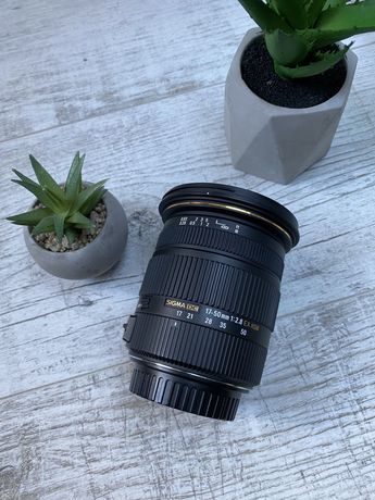 Sigma 17-50mm f/2.8 EX DC OS Canon