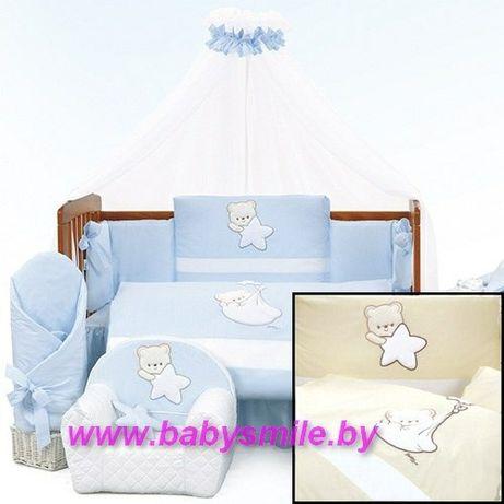 Комплект в  дитяче ліжечко.