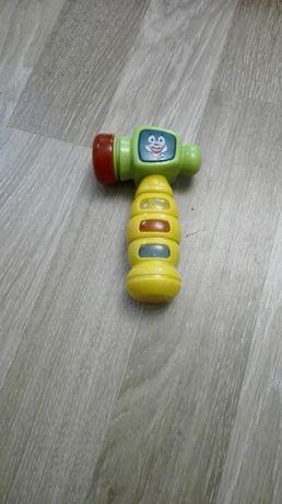 młotek, zabawka interaktywna