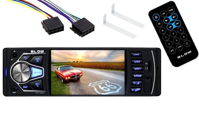 Nowe Radio Samochodowe BLOW 1DIN USB 7' AVH-8984 MP5 MP3 RDS FM F-VAT