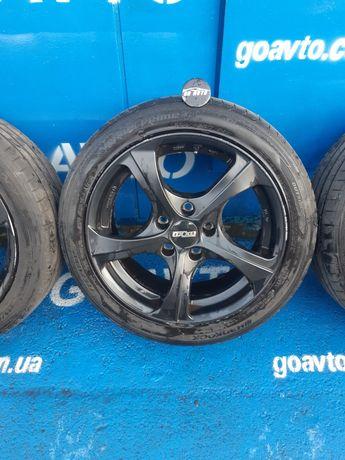 GOAUTO комплект дисков шин BMW T5 5/120 r17 et43 7.5j dia72.6 в идеаль