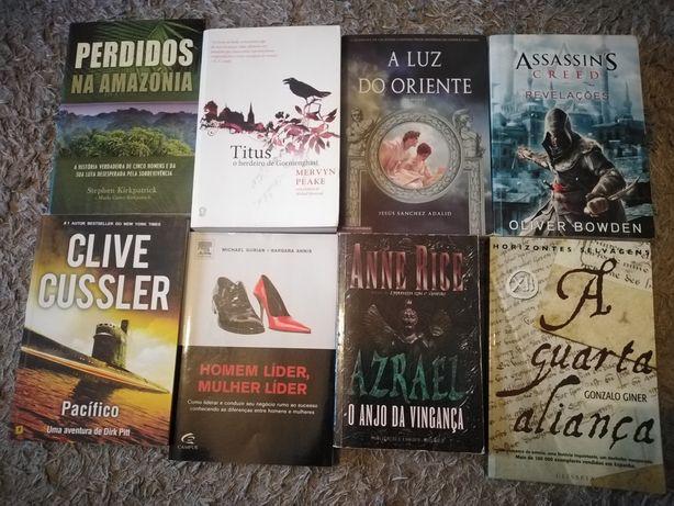 Lote de livros de literatura internacional