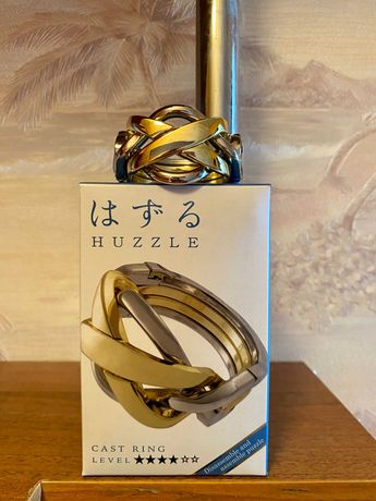 Головоломка Huzzle Cast Ring, Hanayama 4*