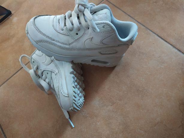 Nike air max dziecięce białe