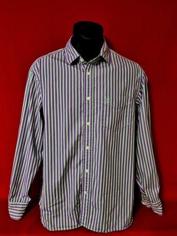 Стильная и яркая мужская брендовая рубашка от MARKS & SPENCER