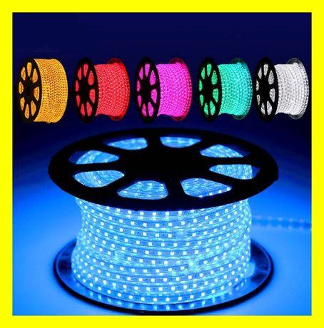 Светодиодная LED лента 100 метров АКЦИЯ! Новогодняя влагозащщенная