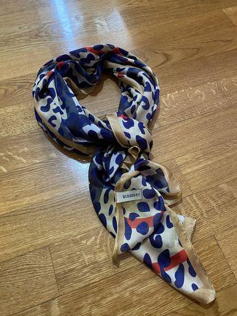Шовковий шарф Burberry