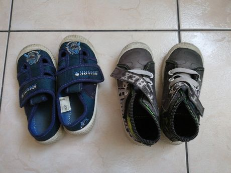2 pary butów rozm. 26
