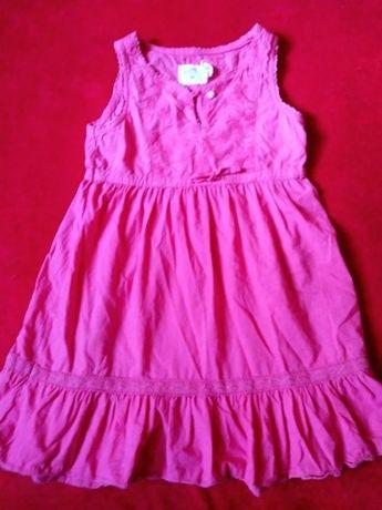 Różowa sukienka H&M