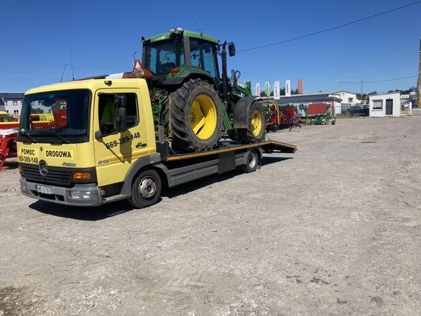 Pomoc drogowa Auto laweta Przewóz pojazdów maszyn rolniczych itp