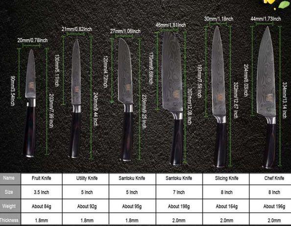 Кухонний ніж набор ножей нож ножи ножі