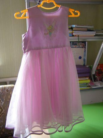 Літня пишна сукня дівчинці на зріст 122см