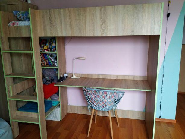 Двоярусне ліжко-стіл