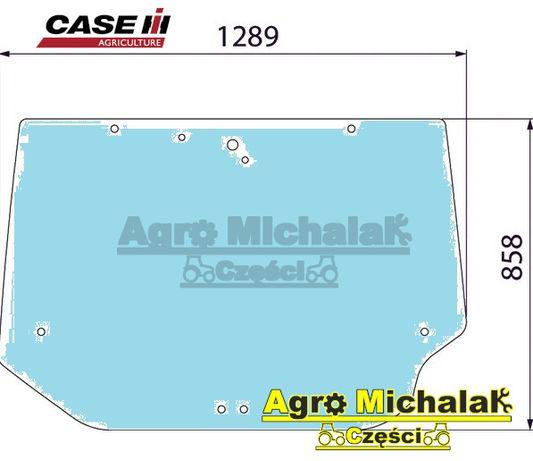 Szyba tylna case MX 100, 150, 120, 135, Mccormick, MTX110, 150, xtx