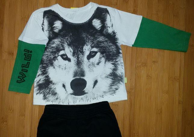 Костюм Bonprix: футболка и брючки размер 98-104, футболки