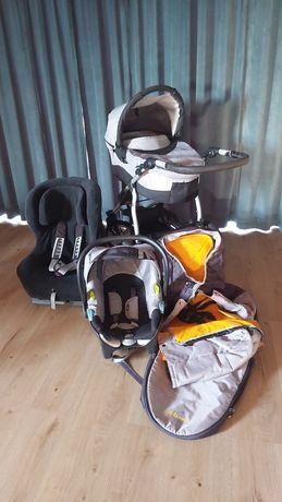 Wózek 3 w 1 xlander + fotelik romer king 9-18 kg