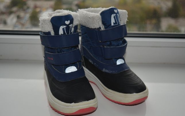 Зимние ботинки, сапоги, сноубутсы Немецкой фирмы Lupilu, размер 26