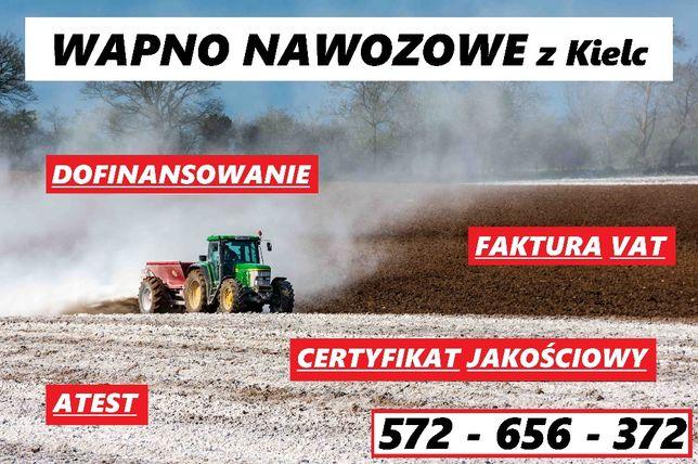 Wapno nawozowe z Kielc, faktura VAT, dofinansowanie