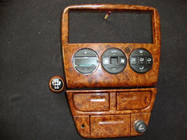 panel klimatyzacji opel vectra gałka biegów drewno klimatronik