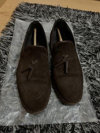 Sapatos/mocassins Homem de camurça