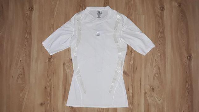 Koszulka treningowa krótki rękaw adidas L biała Climcool