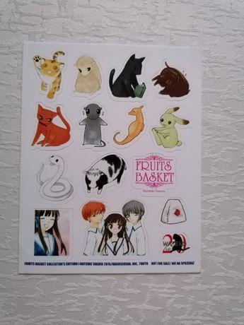 Naklejki manga anime