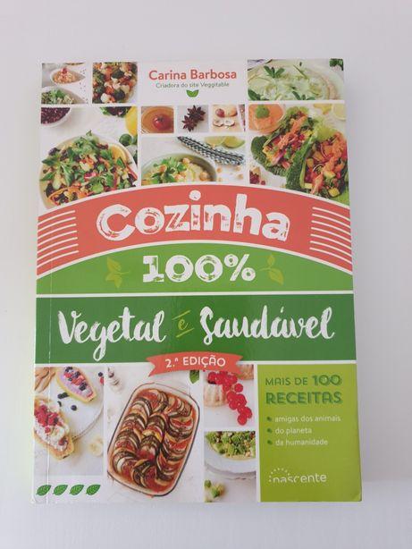 Livro Cozinha 100% vegetal e saudável (NOVO)