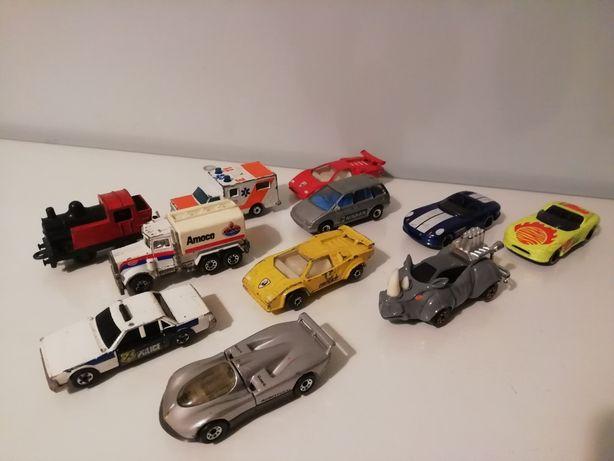 Lotes de miniaturas antigas Matchbox, Majorette, Guisval e Guilroy