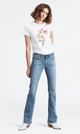 Женские джинсы ретро винтаж клеш буткат levis 715 размер 30 L
