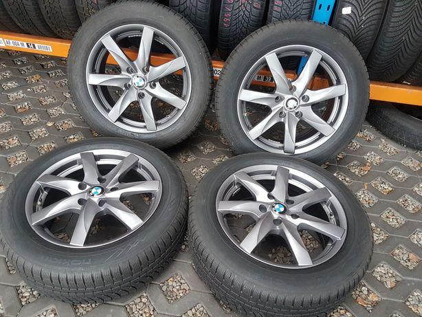 """Koła Zimowe BMW F10 17"""" 5x120 z czujnikami RunFlat Nokian 225/55"""