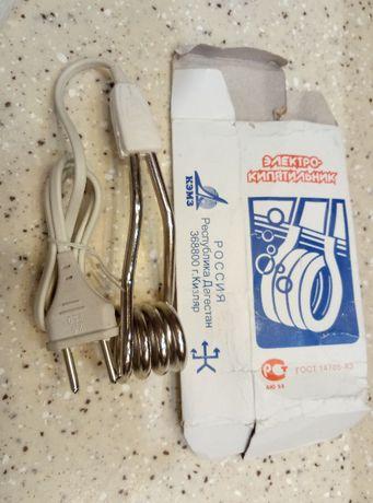 Кипятильник (большой) в упаковке и с паспортом
