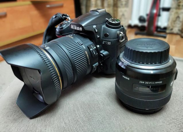 Nikon D7000 + SIGMA DC 17-50мм + SIGMA 30мм1:1,4DC