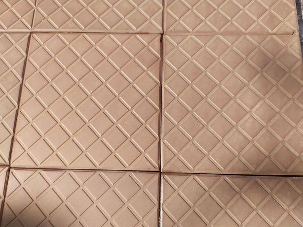 Плитка Керамическая Коричневая Винтажная  15*15 см. Чехословакия