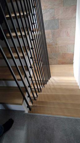 Balustrada/Barierka w stylu Harfa 25x25